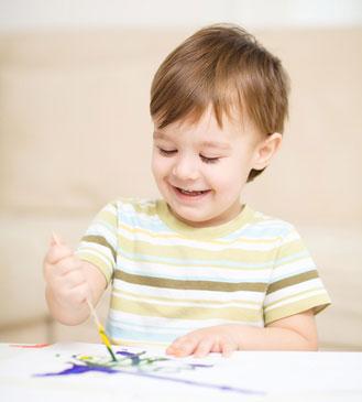 kinder malen gerne