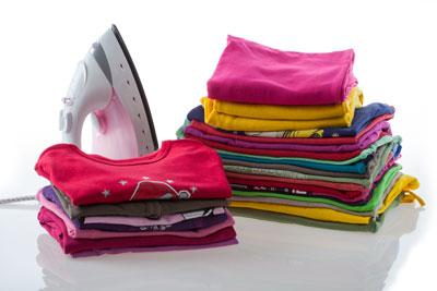 t-shirts bügeln