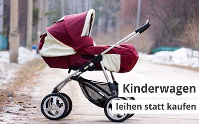 Leihen statt kaufen beim Kinderwagen hilft sparen