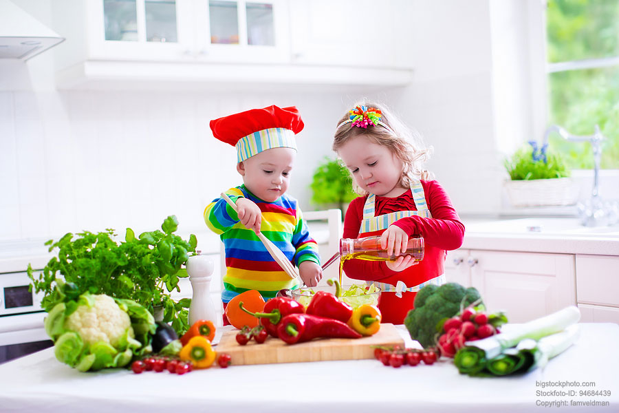 Kinder gesundes Essen